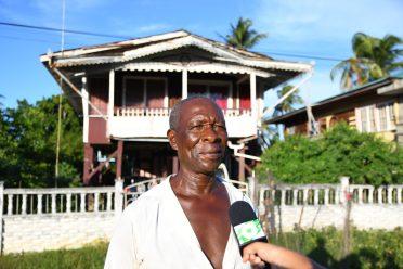 Michael Ross, a resident