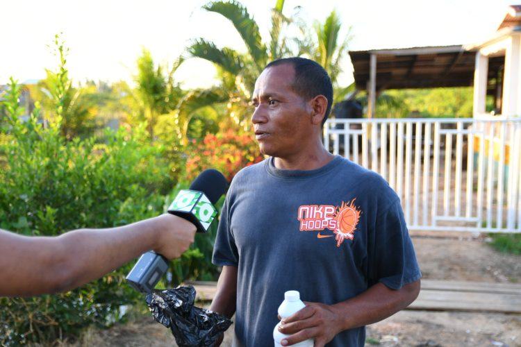 Ricardo Caravio, a resident.