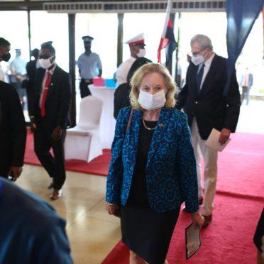 US Ambassador to Guyana, Sarah-Ann lynch