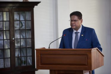 President of Suriname, His Excellency, Chandrikapersad Santokhi