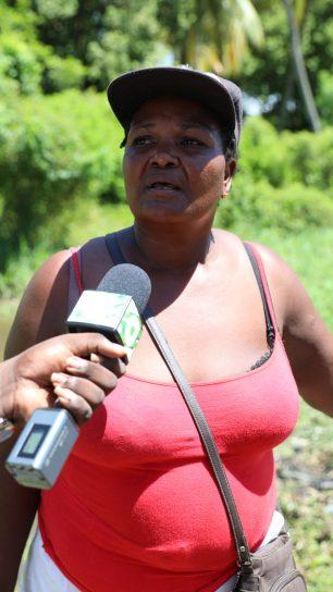 No. 53 village farmer, Nella Jaundo
