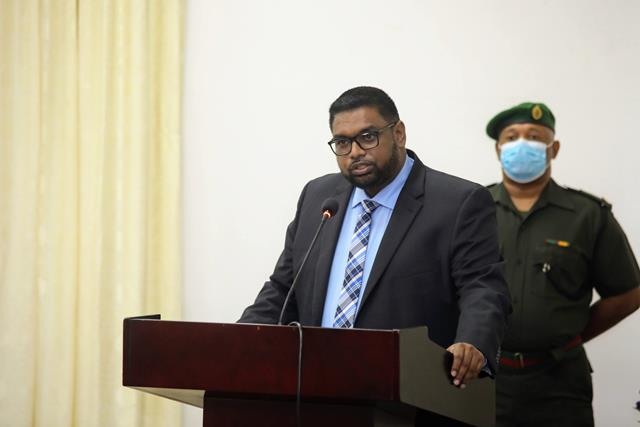 His Excellency Dr. Mohamed Irfaan Ali