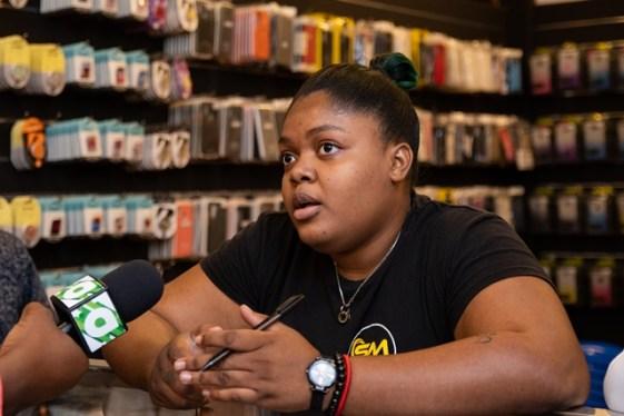 Allana Warner, Safco Mobiles' Sales Representative