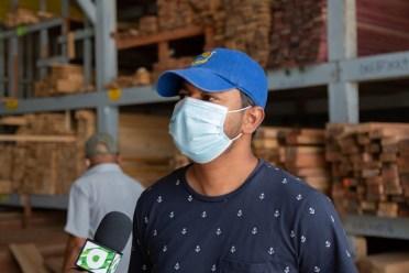 Co-owner of Builder Lumberyard and Sawmill, Avinash Salim
