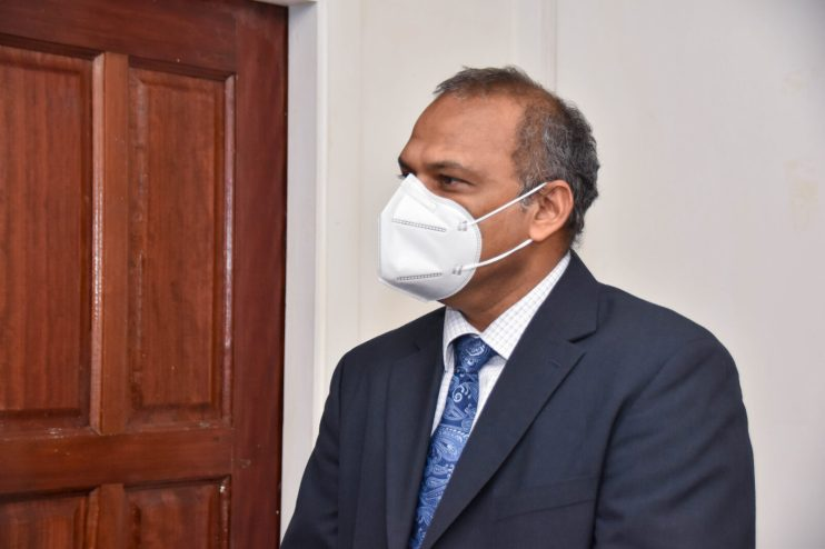 Minister Dr. Frank Anthony