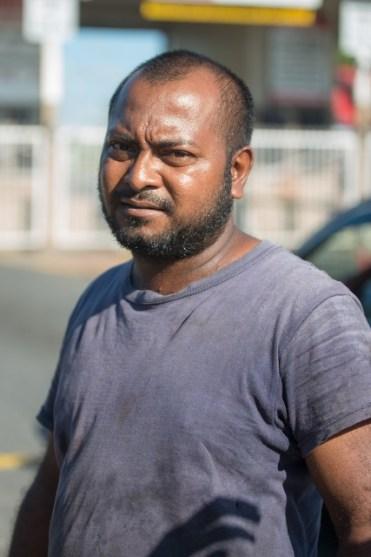 Truck driver, Mr GanshamDas
