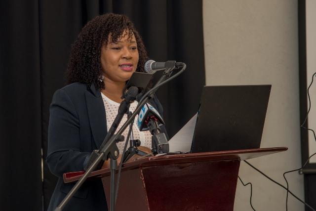 Director of the CCAC Mrs. Feyona Austin Paul