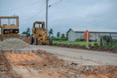 Ongoing rehabilitation of De Hoop Access Road