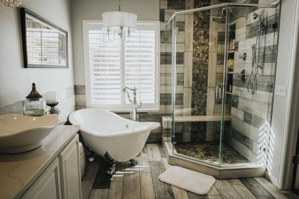Create a spa like feel when doing a bathroom remodeling project