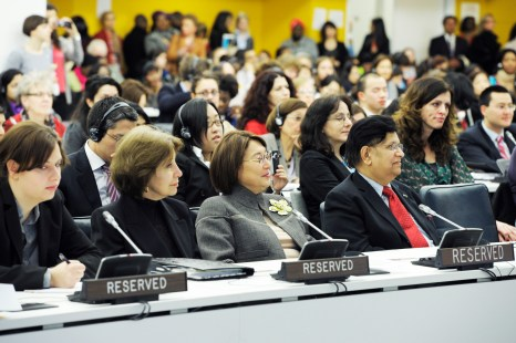Women's day event highlights role of rural women in ending hunger and poverty 2011. UN photo