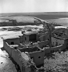 Israeli war on Palestine in 1948 left destruction and is considered the start of the Palestinian catastrophe 01 January 1948 (UN photo).