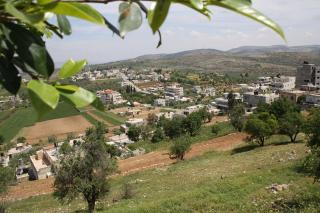 Singel a village located in Ramallah, it is the place were Shadi was born and grew up, and the place where his family is living. photo courtesy of Singel municipality . 2012