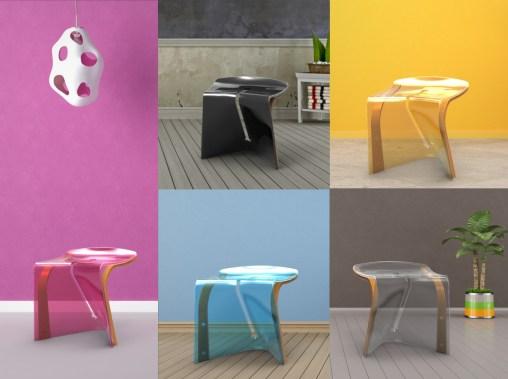 [全國壓克力競賽]一片椅子 – 解析度設計有限公司