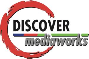 Discover Mediaworks' Old Logo (circa 2000)