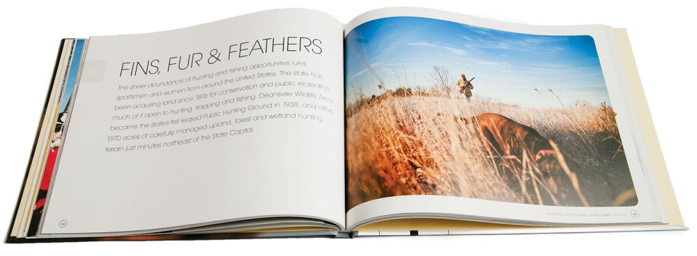 Chapter 15: Fins, Fur and Feathers from Discover Wisconsin—Discovering the Very Best of the Badger State. D.P. Knudten, author, Creative Director.