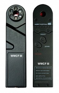 WIRELESS / WIRED HIDDEN CAMERA FINDER III