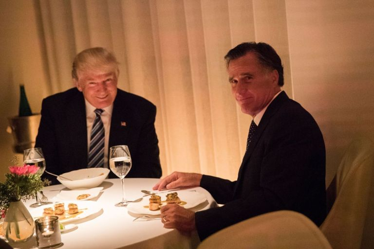 Mitt Romney Blasts 'Deep Descent' of Trump Presidency