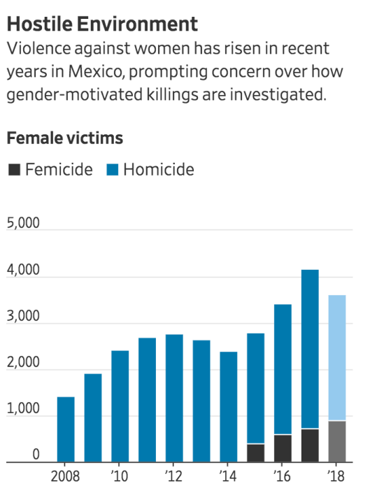 'A Horrible Culture of Machismo': Women Struggle With Violence In Mexico (#GotBitcoin?)