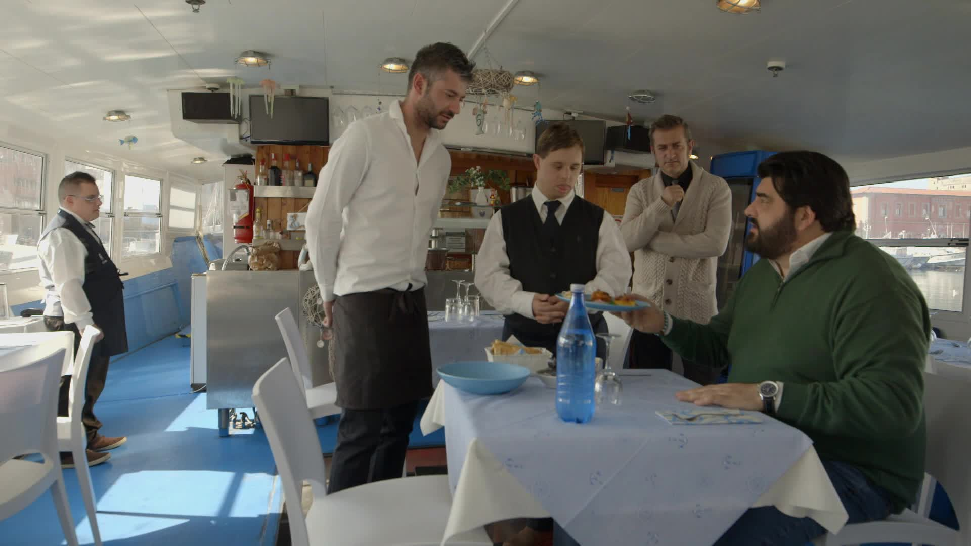 Cucine da incubo Italia Antonino Cannavacciuolo a Livorno
