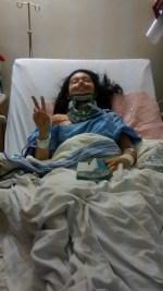 September 2015: After surgery #2