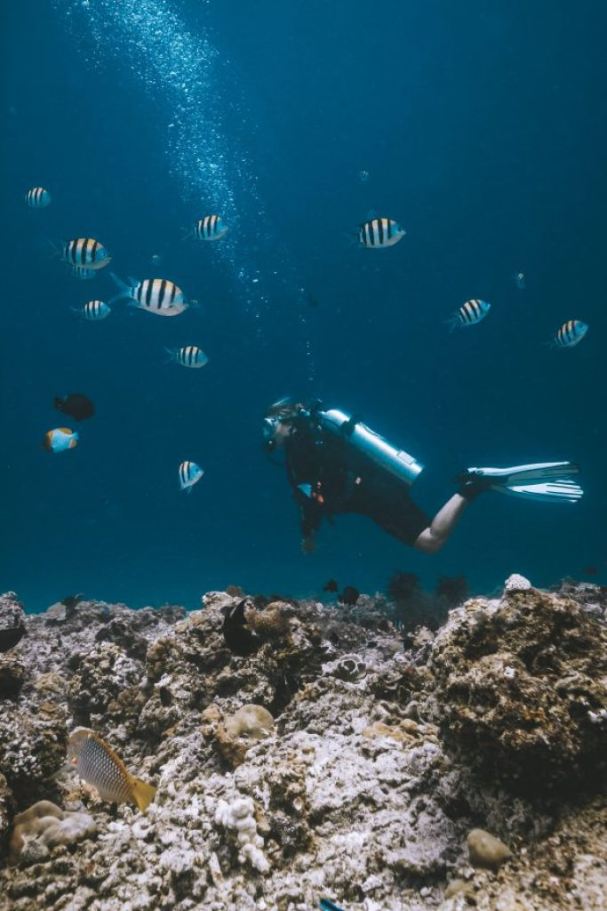 open water gili trawangan