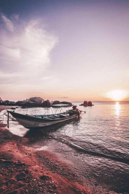 Sunset View koh Tao Island