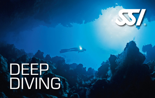 online scuba certification - deep diving
