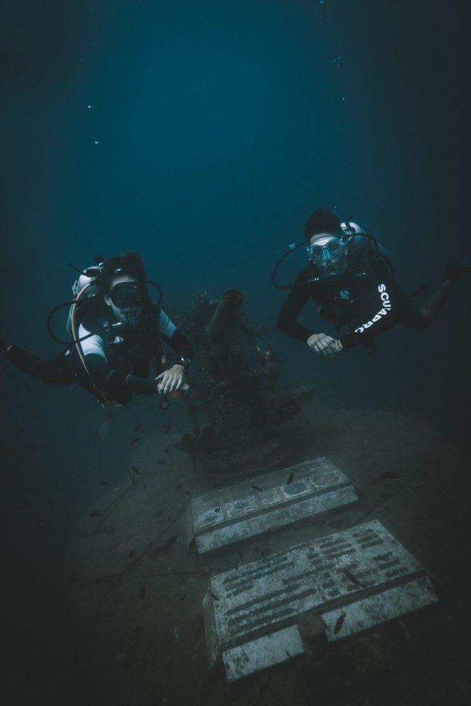 shipwreck dive in koh tao