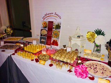 Yummy Madhuram sweets at the Gala!