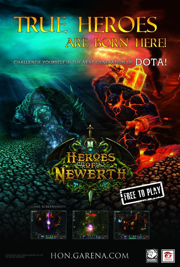 Heroes Of Newerth Garena