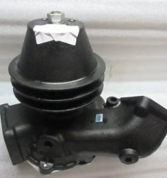 isuzu e120 engine water pump 1 87810663 0 for forklift [ 2048 x 1536 Pixel ]