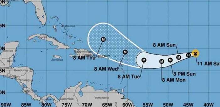 Huracán Irma continua ganando fuerza rumbo al Caribe