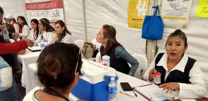 Jornadas de asistencia social llega a más de 2 mil sonorenses: Secretaría de Salud