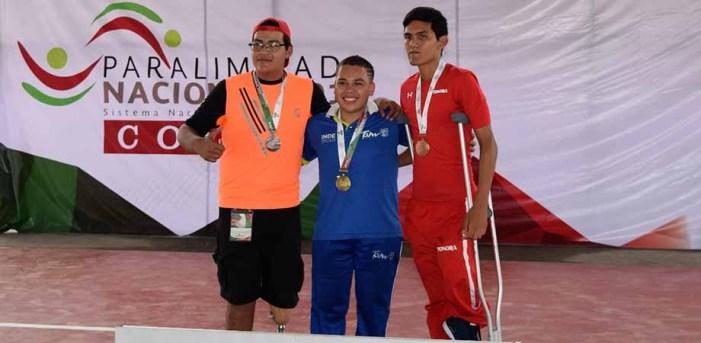 Suma Sonora siete medallas más en paralimpiada nacional