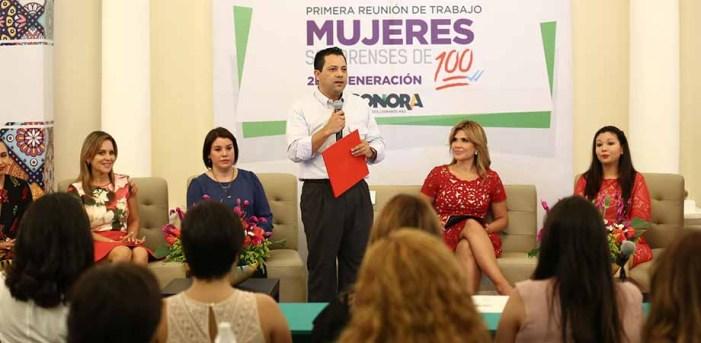 """Supervisa Claudia Pavlovich proyectos de """"Mujeres Sonorenses de 100"""""""