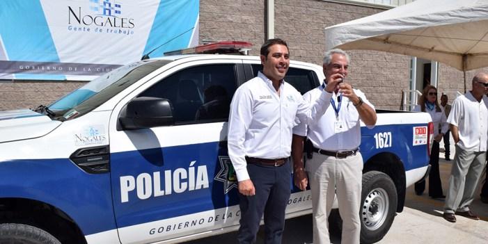 Recibe Nogales patrulla donada por la Industria Maquiladora
