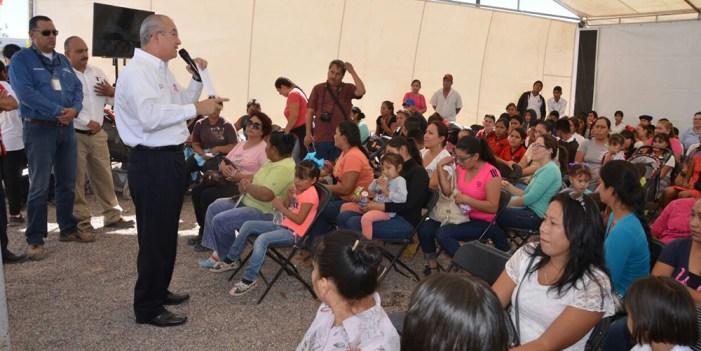 """Llevan Jornada de Salud Comunitaria a Ejido """"El Coyote"""" de Caborca"""