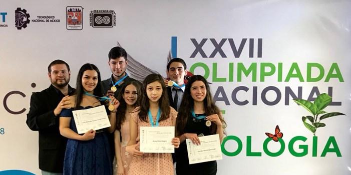 Logran alumnos de Cobach oro y plata en Olimpiada de Biología