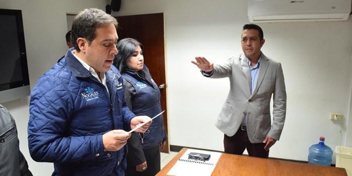 Designan a Luis Olivas como nuevo Tesorero Municipal