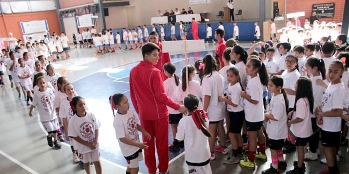 Inauguran encuentro de básquet ball estatal