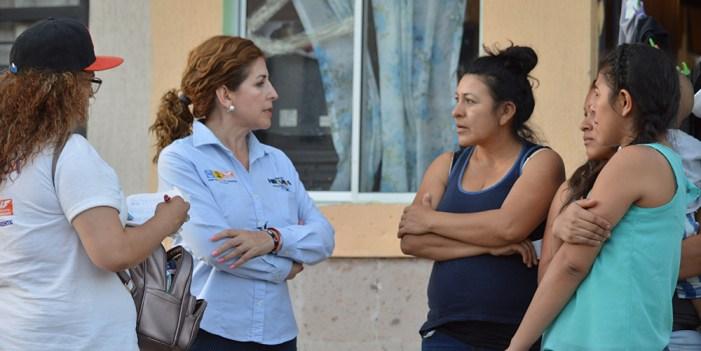 Angélica Miranda buscará pagos justos en Infonavit