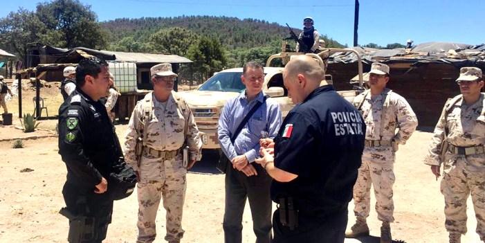 Acuerdan Sonora y Chihuahua coordinación de seguridad en sus fronteras