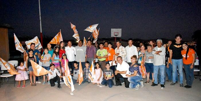 Ciudadanos reafirman apoyo a Maval