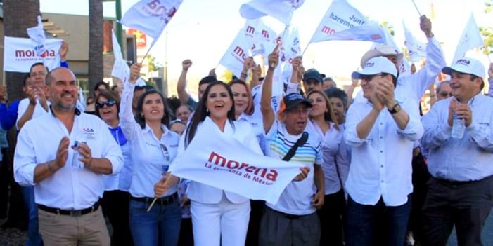 En mi gabinete 50% serán mujeres: Célida López