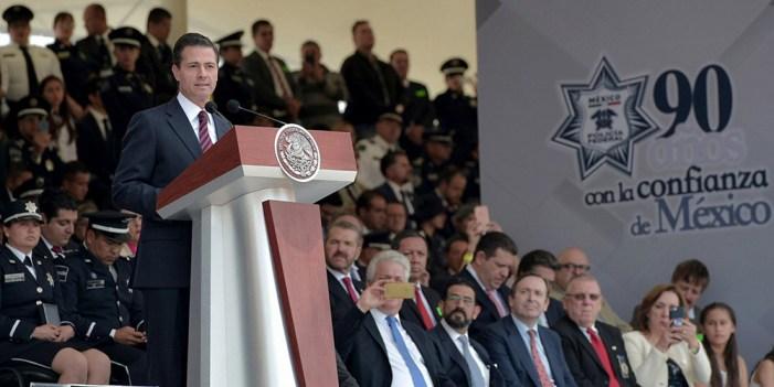 Crimen organizado, reto de gran magnitud: Peña Nieto