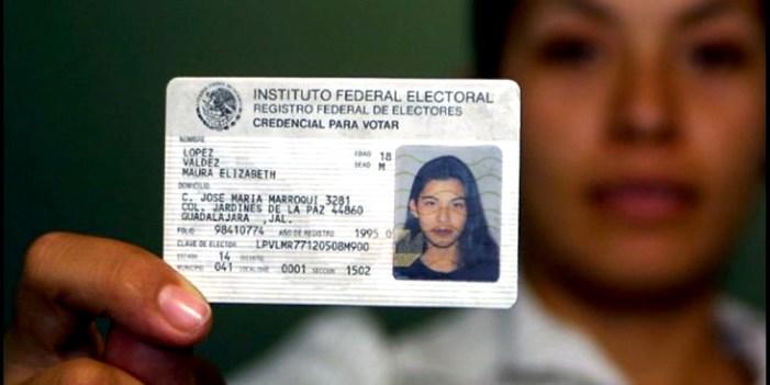 Credencial de elector; pierden vigencia 7.7 millones