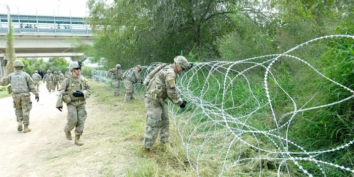Desplegaría Estados Unidos 10 militares por cada migrante