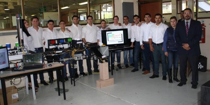 Elaboran alumnos de UTH celdas de manufactura flexible para industria maquiladora