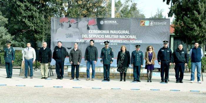 Realiza 45a Zona Militar ceremonia inaugural de Servicio Nacional