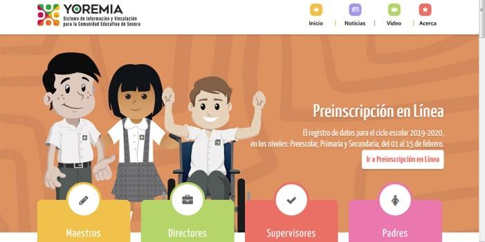 "Nuevo portal ""Yoremia"" cumple objetivos a corto plaza"